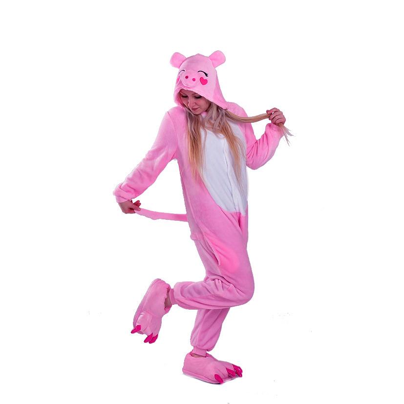 Плюшевые пижамы Поросенок розовый 16699.489c195f8f791df4773e265850b70542.jpg