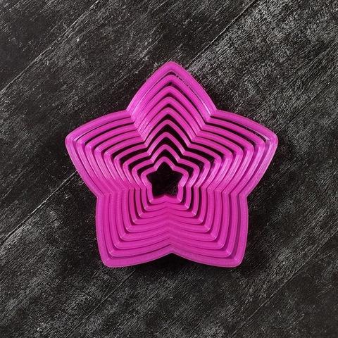 Набор 3D елочка №31 из звезд