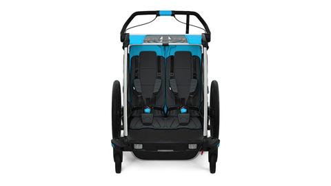 Картинка коляска Thule Chariot Sport2 голубая  - 6