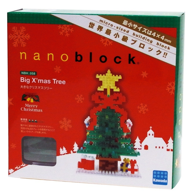 Nanoblocks Новорічна ялинка