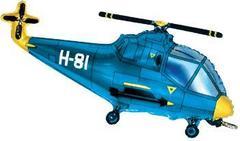 F Мини-фигура, Вертолет (синий), 14