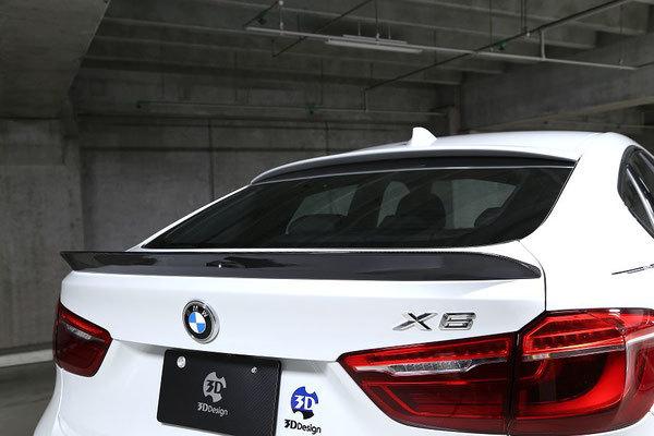 Карбоновый спойлер крышки багажника для BMW X6M F86