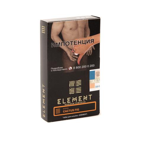 Табак Element (Земля) - Cactus Fig (Кактусовый Финик) 40 г