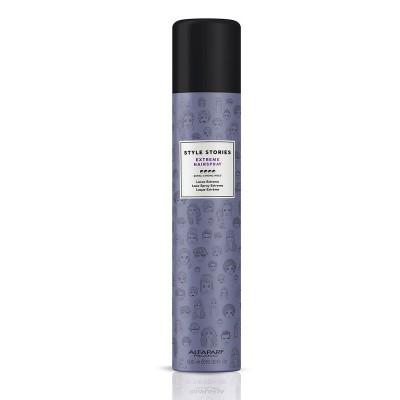 Alfaparf Milano Style Stories: Лак для волос экстремальный очень сильной фиксации (Extreme Hairspray), 500мл