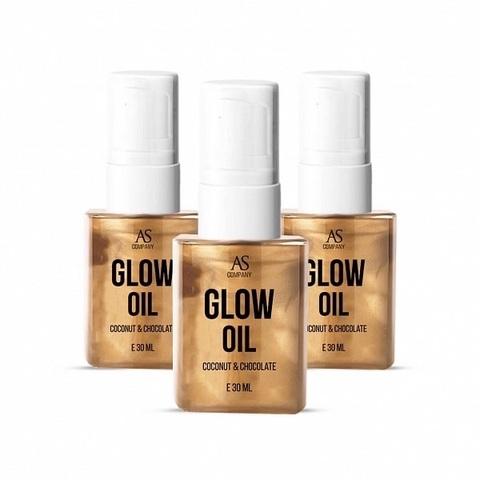 Фото масло GLOW OIL аромат кокос-шоколад