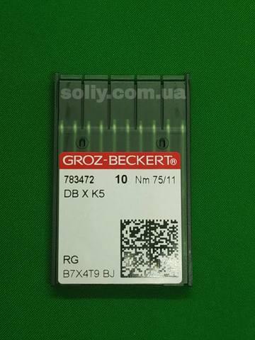 Groz Beckert DB*К5 универсальные иглы для промышленных вышивальных машин №75 | Soliy.com.ua