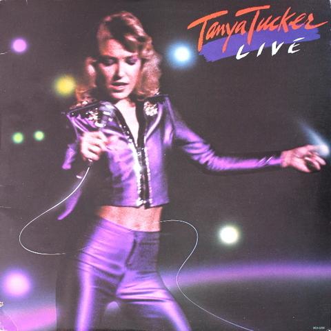 Tanya Tucker / Live (LP)