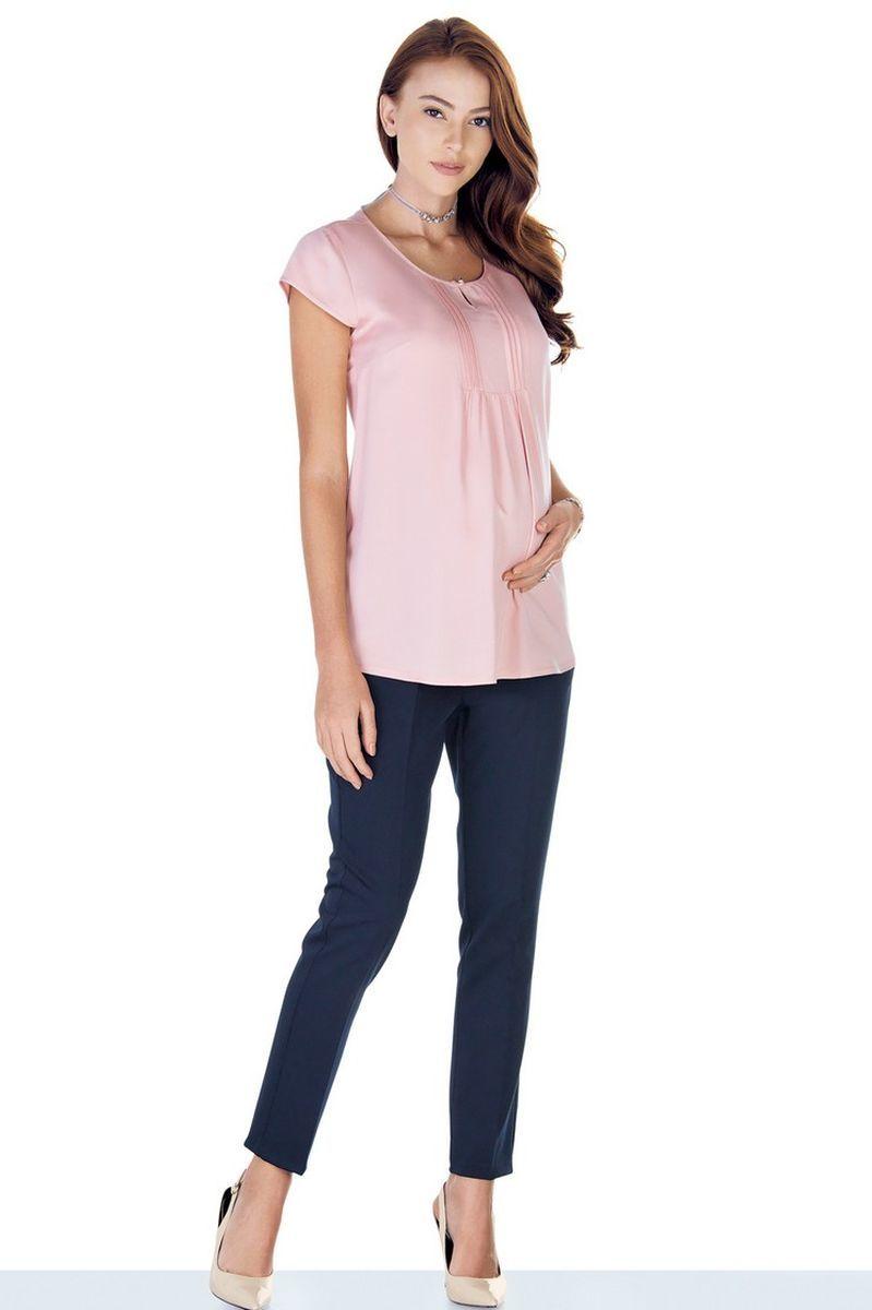 Блузка для беременных 09424 розовый