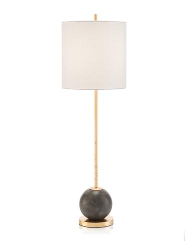 Concrete Sphere Buffet Lamp