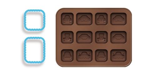 Формочки для шоколада Tescoma DELICIA KIDS, машинки