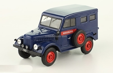 GAZ-69 Militia 1:43 DeAgostini Auto Legends USSR Police #2