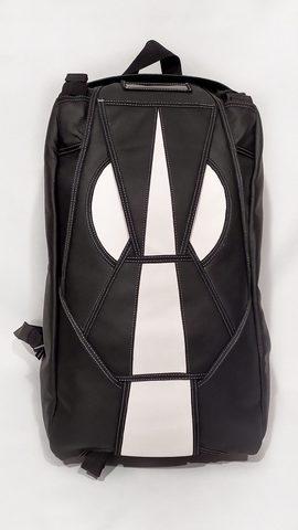 Городской рюкзак с кофром для шлема SkyLife (из кожи)
