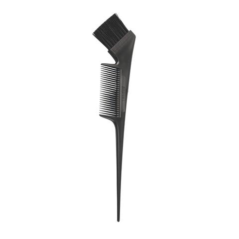 Кисточка с расчёской чёрная Kapous
