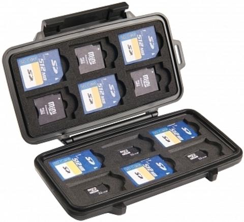 Ударопрочный кейс Peli 0915 для карт памяти SD