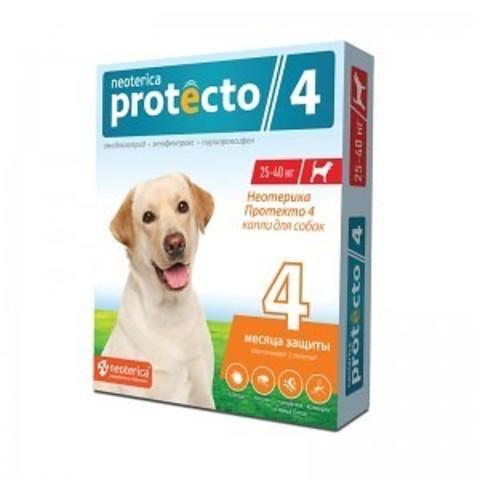 Протекто (Protecto) капли для собак 25-40 кг.