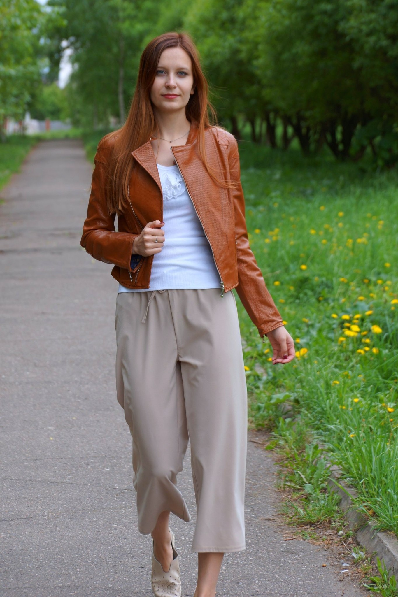 Кожаная куртка Classic