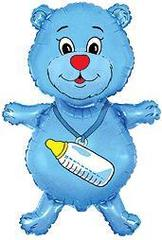 F Фигура, Медвежонок мальчик (синий), 37