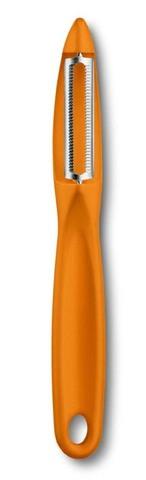 Овощечистка универсальная оранжевая VICTORINOX 7.6075.9