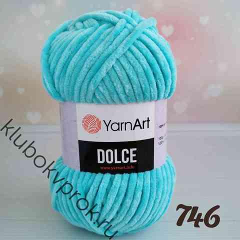 YARNART DOLCE 746, Бирюзовый