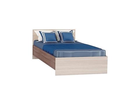 Кровать односпальная Бася КР-555 90х200 Браво Мебель ясень шимо светлый, темный