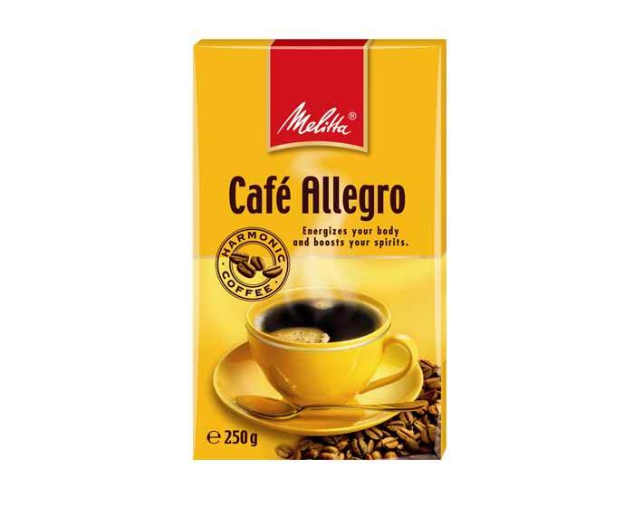 Кофе молотый Melitta Allegro, 250 г