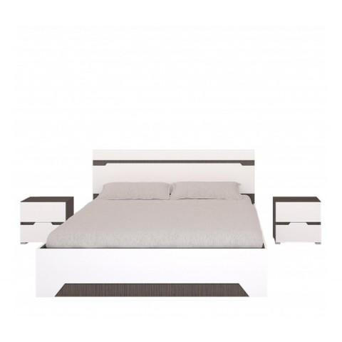 Спальня Анталия-1 Горизонт венге, белый софт