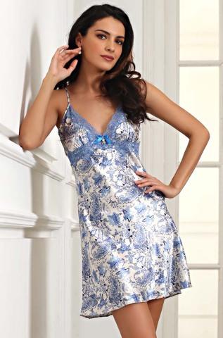 Сорочка женская ночная шелковая MIA-Amore  Дольче Вита  5914