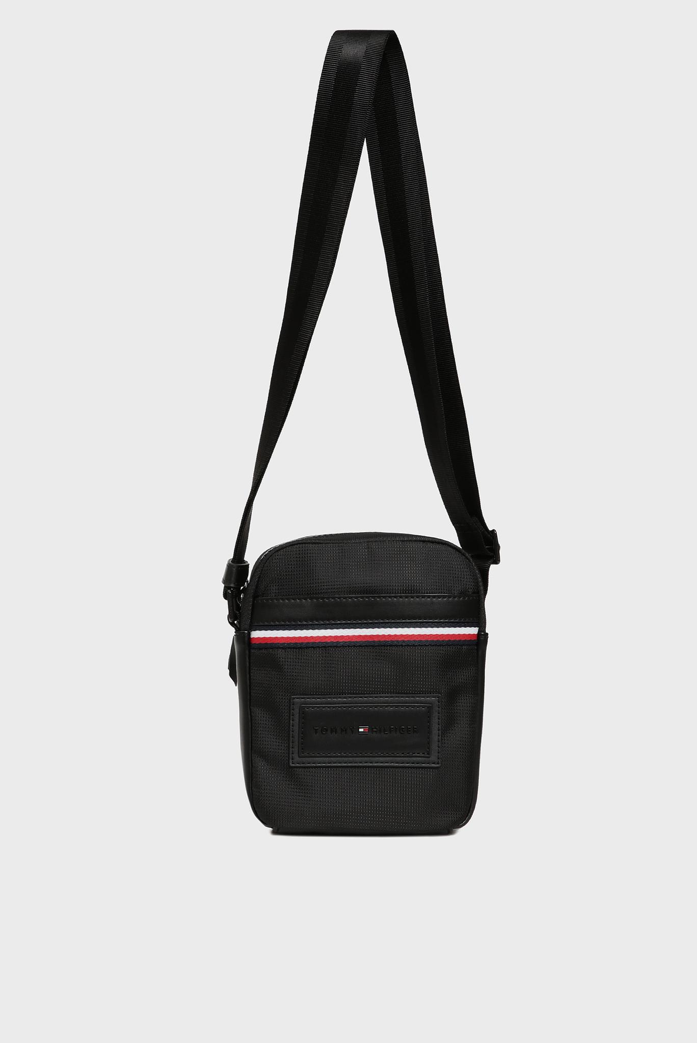 Мужская черная сумка через плечо MODERN NYLON MINI REPORTER Tommy Hilfiger