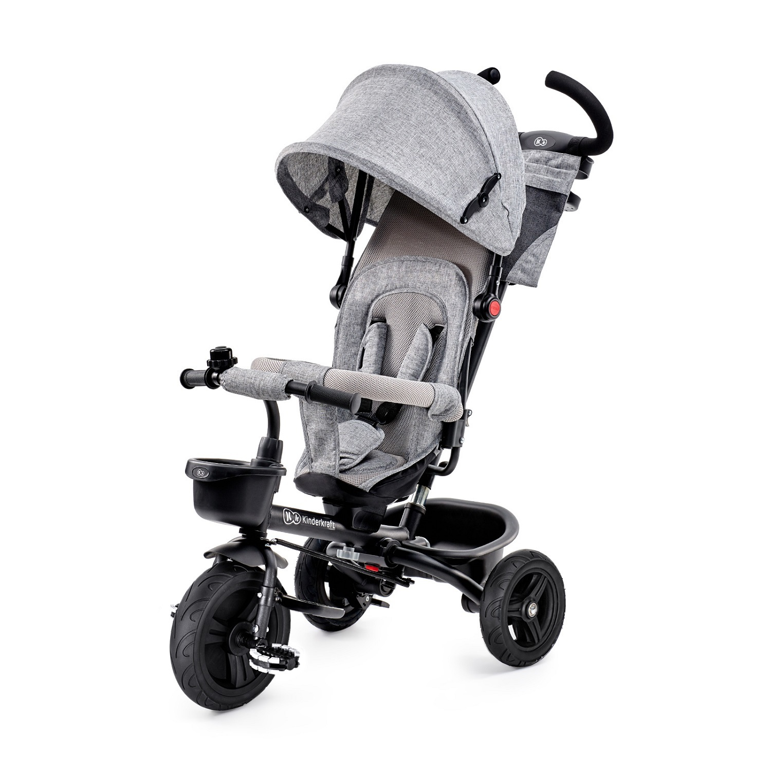 Велосипед Kinderkraft Aveo Grey складной