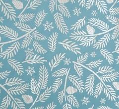Плёнка упаковочная голография «С Новым годом веточки!», 100 × 70 см, 5 листов.