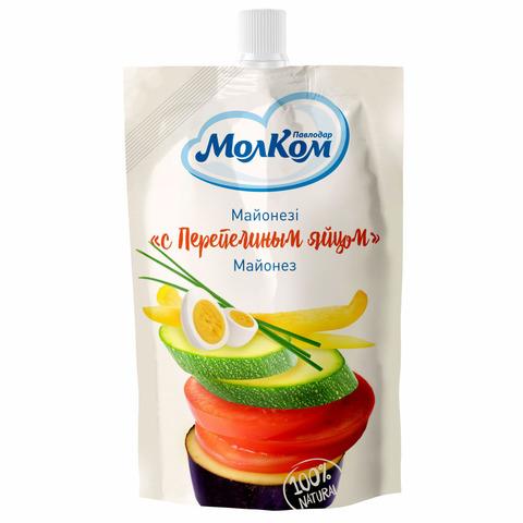 Майонез МолКОМ с перепелинным яйцом 67% 190 г ДП КАЗАХСТАН