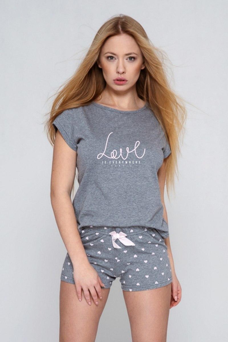 Пижама женская с шортами SENSIS AUGUSTINA