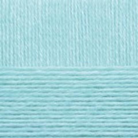 Купить Пряжа Пехорка Детский каприз Код цвета 222-Голубая бирюза | Интернет-магазин пряжи «Пряха»