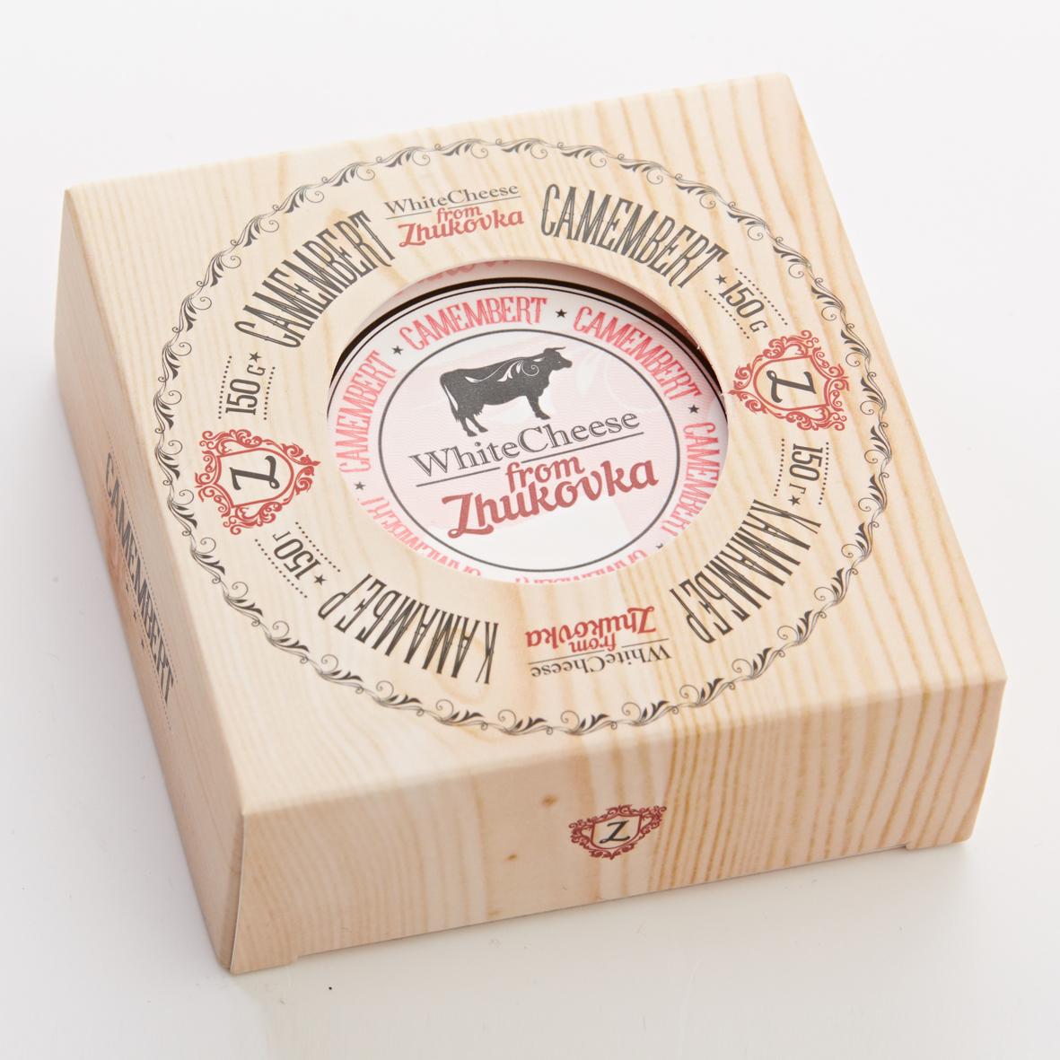 Сыр Камамбер White Cheese from Zhukovka /картон/ 150 гр