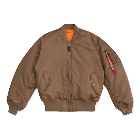 Бомбер Alpha Industries MA-1 Coyote Brown (Коричневый)