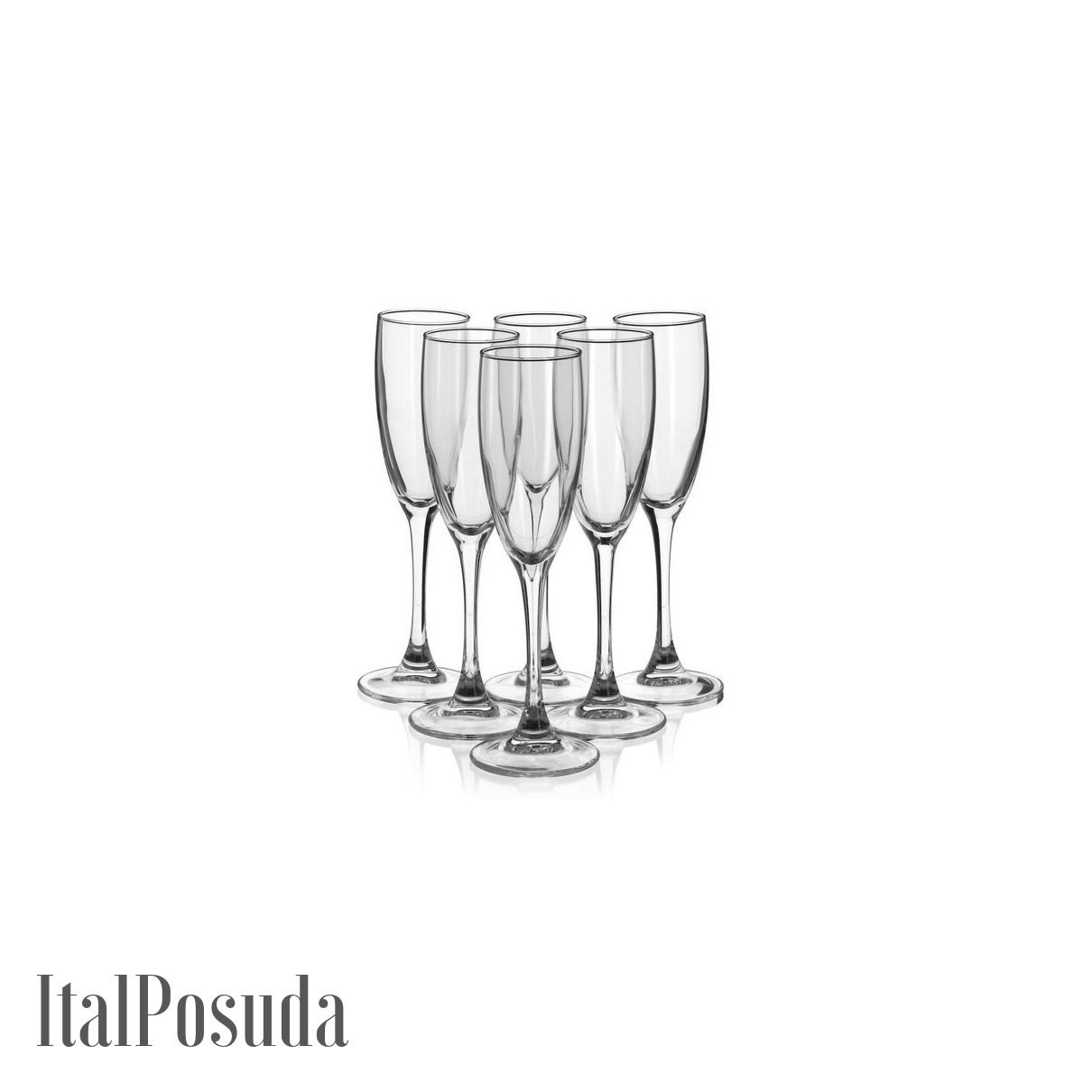 Набор фужеров для шампанского Luminarc Signature (Сигнатюр), 6 шт H8161