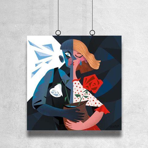 Картина «Кай и Герда»