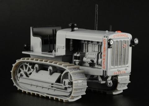 Модель Трактор №5 Сталинец-65 (история, люди, маши