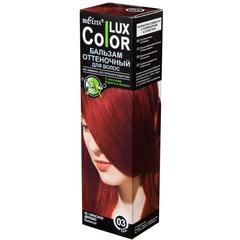 Бальзам оттеночный для волос ТОН 03 красное дерево (туба 100мл) COLOR LUX