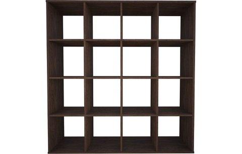 Стеллаж Polini Home Smart Кубический 16 секции, винтаж