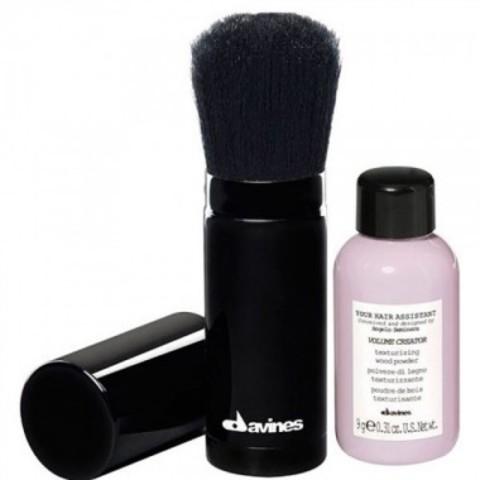 Your Hair Assistant Duo Pack Volume creator and brush - Набор: пудра для объема волос + кисть