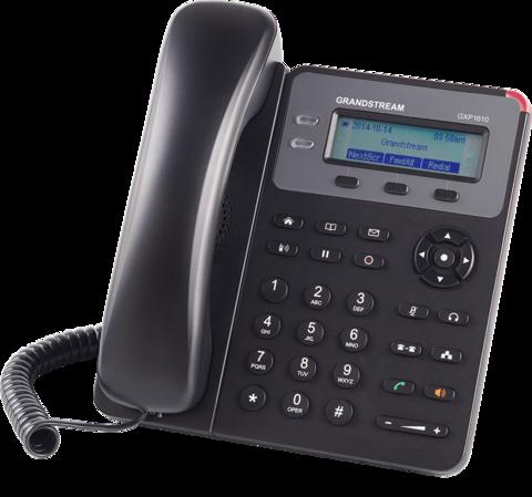 Grandstream GXP1610 (без POE) - IP телефон. 2 SIP аккаунта, 2 линии, нет подсветки экрана