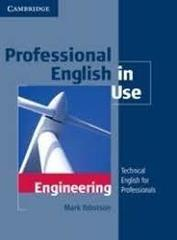 Professional English in Use Engineering Book wi...