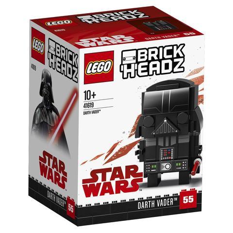 LEGO BrickHeadz: Дарт Вейдер 41619 — Darth Vader — Лего БрикХедз