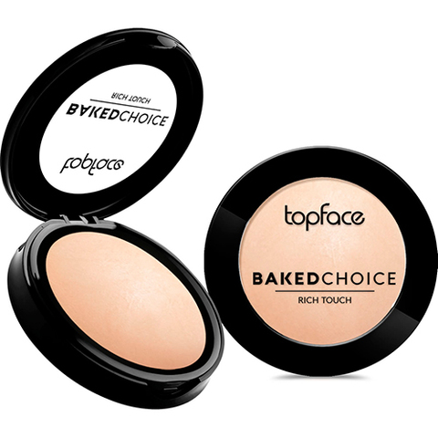 TopFace Пудра Baked Choice Rich Touch  Powder тон 001- PT701(10г)