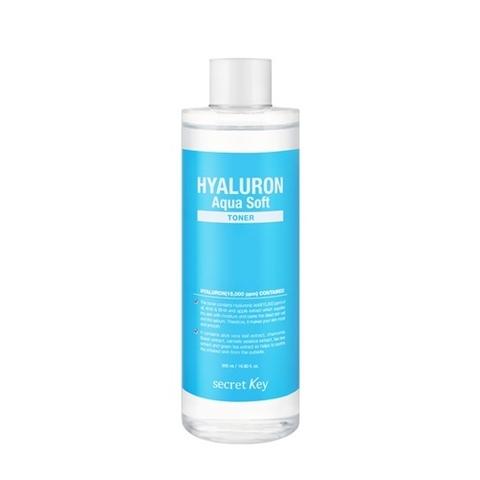 Secret Key Hyaluron Soft Micro-Peel Toner гиалуроновый тонер с эффектом микро-пилинга