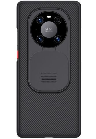 Чехол с защитной шторкой для камеры на Huawei Mate 40 Pro от Nillkin серии CamShield Case