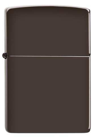 Зажигалка коричневая металлик Brown Matte ZIPPO 49180