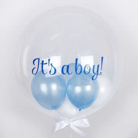 Шар с шариками для мальчика