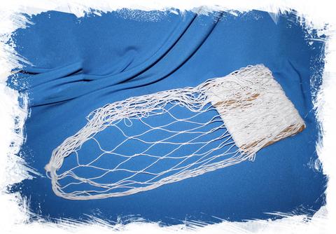 Сетка морская декоративная 100х200 см. белая